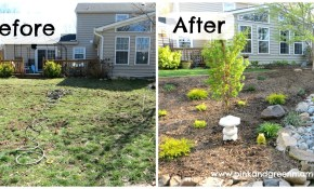 Landscape Ideas For Backyard Makeovers Pink And Green Mama for 11 Genius Ideas How to Craft Diy Backyard Makeover Ideas