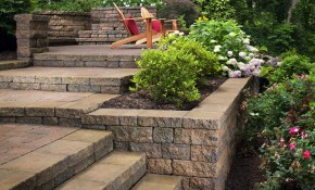 Landscaping Ideas For Hillside Backyard Slope Solutions with Backyard Hill Landscaping Ideas