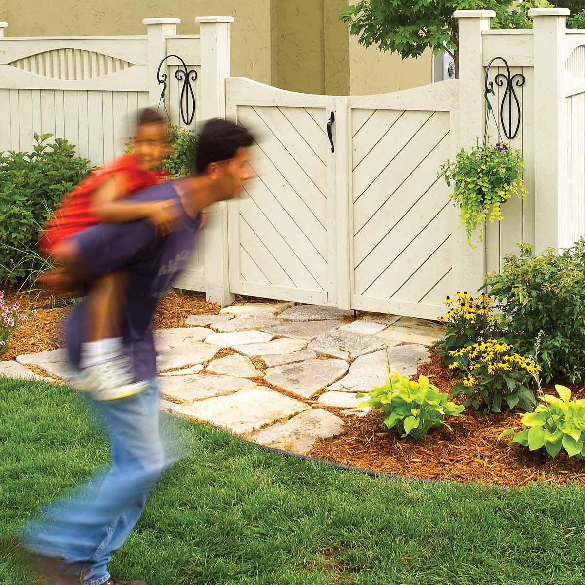 Learn How To Construct A Custom Fence And How To Build A Gate for How To Build Backyard Fence