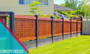 New Design 2017 25 Modern Front Yard Fence Ideas with regard to 12 Genius Ways How to Make Fencing A Backyard