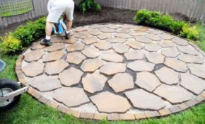 Pin Alexandra Depastene On For The Home Diy Patio Backyard intended for 14 Smart Ways How to Build Diy Backyard Patio Ideas