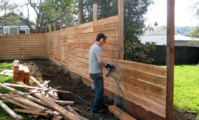 Pin Leah Eve On Gardening Diy Fence Diy Privacy Fence for 14 Genius Initiatives of How to Makeover Privacy Fencing Ideas For Backyards