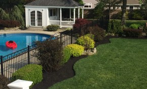 Refreshing A Swimming Pool Landscape All About The House pertaining to 12 Clever Designs of How to Build Backyard Pool Landscaping Pictures