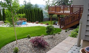 Simple Small Backyard Landscaping Ideas intended for Low Budget Backyard Landscaping Ideas