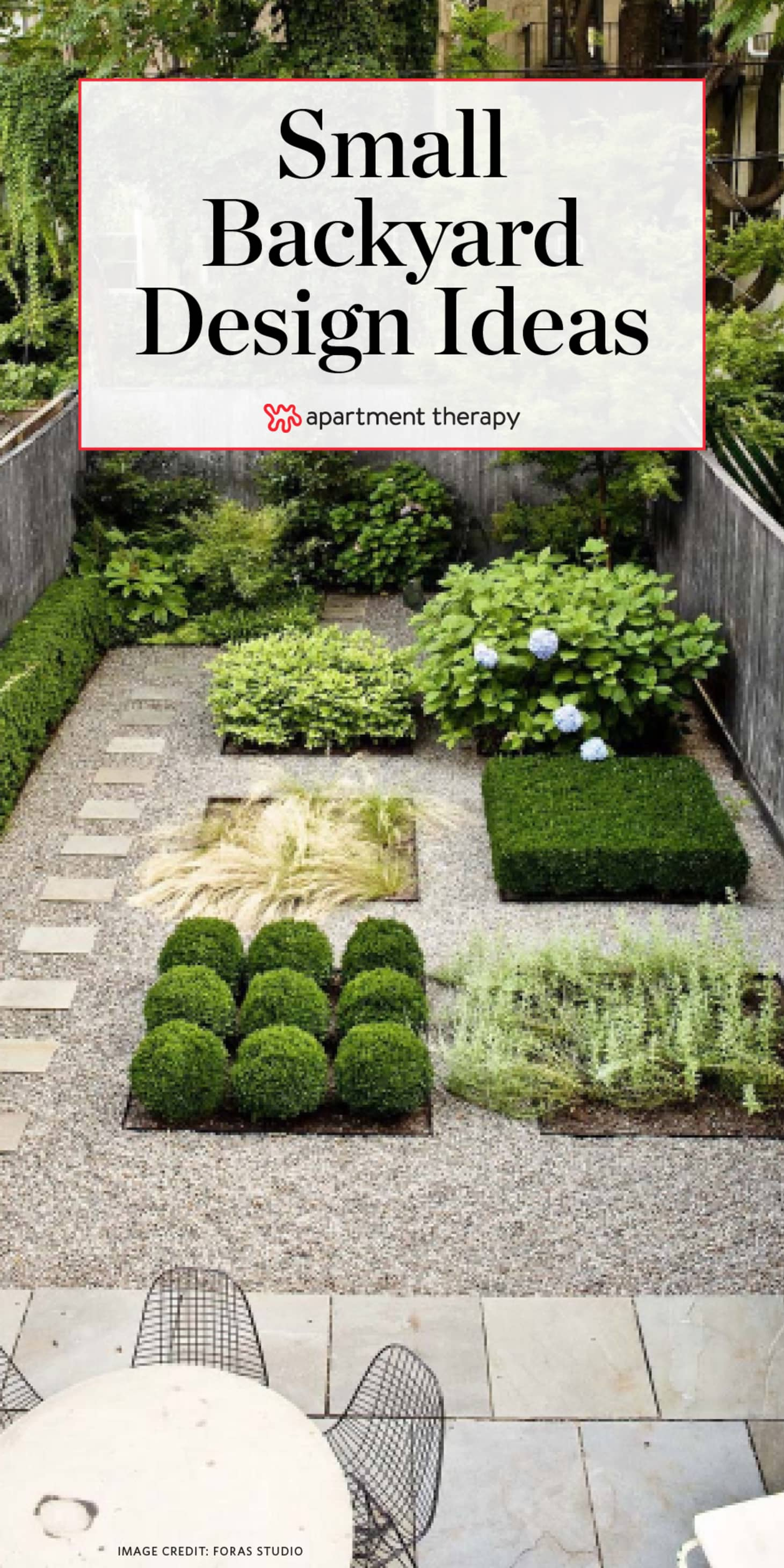 Small Backyard Design Ideas Inspiration Apartment Therapy for Ideas For Small Backyards