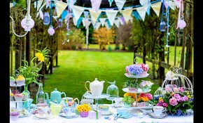 Stunning Garden Party Decorations Ideas inside Backyard Party Decorating Ideas