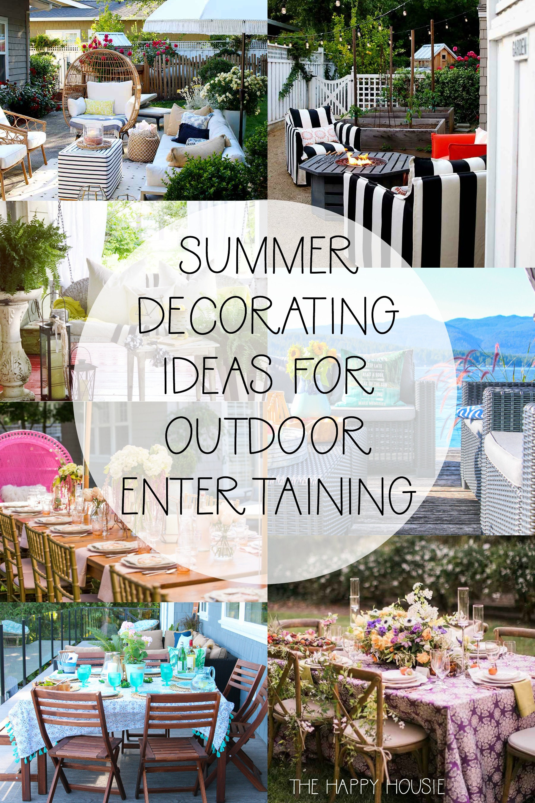 Summer Decorating Ideas For Outdoor Entertaining The Happy with 10 Awesome Ideas How to Makeover Backyard Party Decorating Ideas