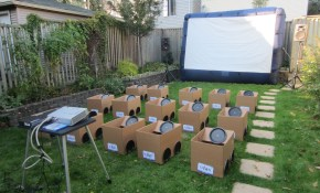Summer Fun My Bucket List Summer Movie Party Summer intended for Backyard Party Ideas For Kids