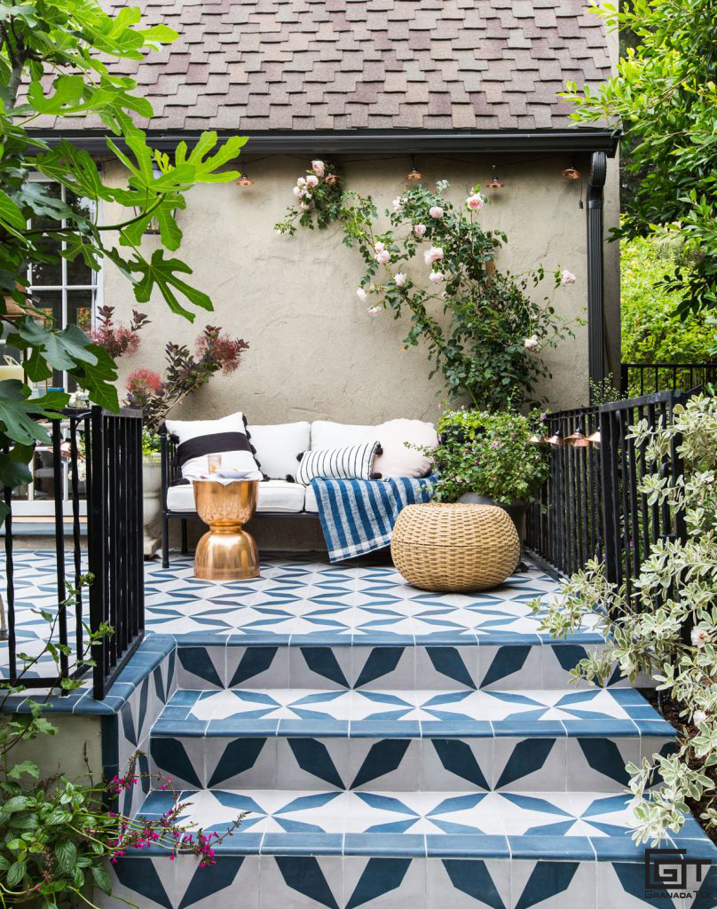The Most Stylish Patios With Cement Tiles Granada Tile in 11 Awesome Tricks of How to Upgrade Backyard Tiles Ideas