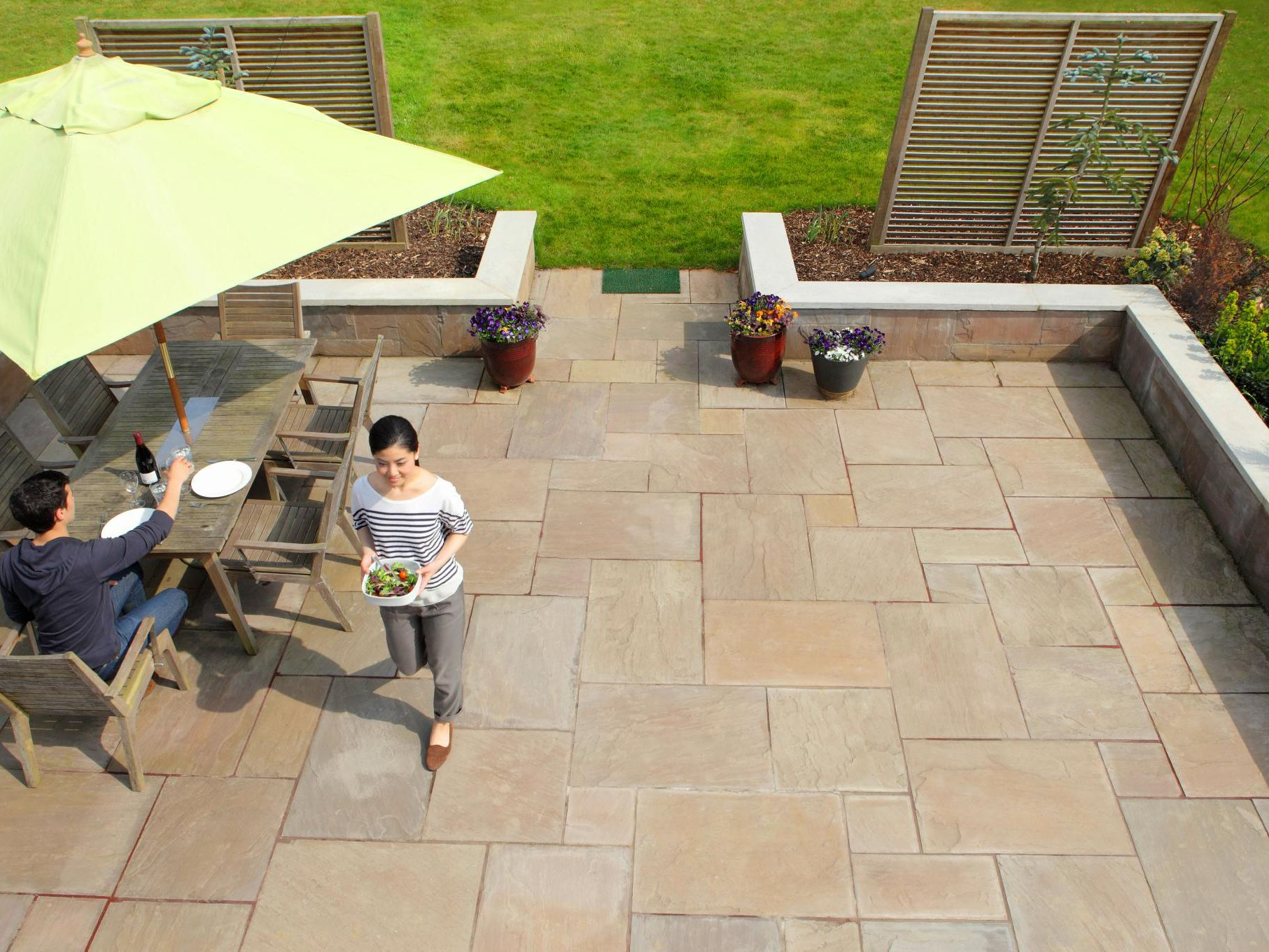 Types Of Tiles You Can Use For Outdoor Patios in Backyard Tiles Ideas