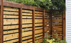 Unique Affordable Backyard Privacy Fence Design Pergolastringlights for 12 Genius Initiatives of How to Upgrade Cool Fence Ideas For Backyard