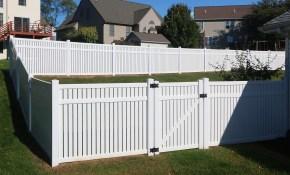 Vinyl Fence Styles Colors How To Find The Right Vinyl inside 10 Clever Initiatives of How to Make Backyard Vinyl Fence