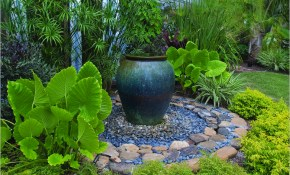 Waterfall Backyard Ideas Shaded Front Yard Landscaping Design With regarding 13 Awesome Concepts of How to Make Shaded Backyard Ideas