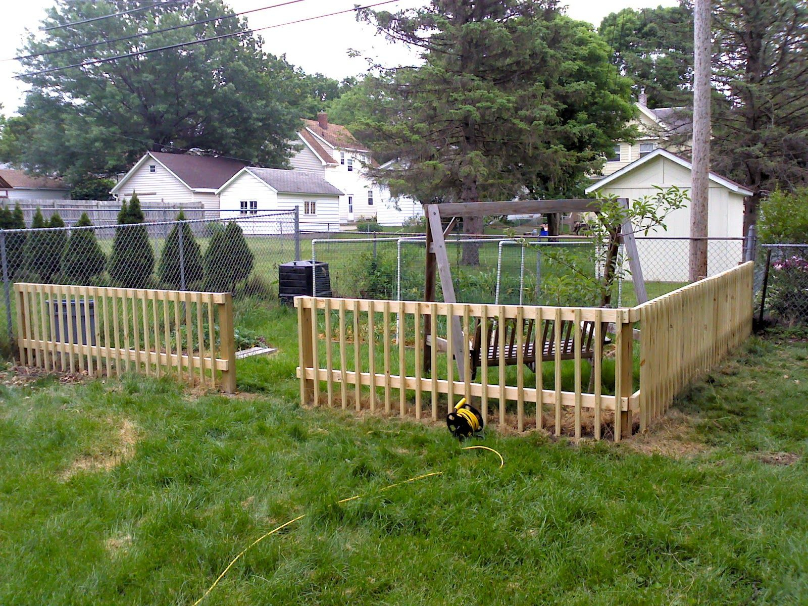 Wood Fence Ideas For Backyard Colors For Your Home Diy inside Backyard Fence Ideas Pictures
