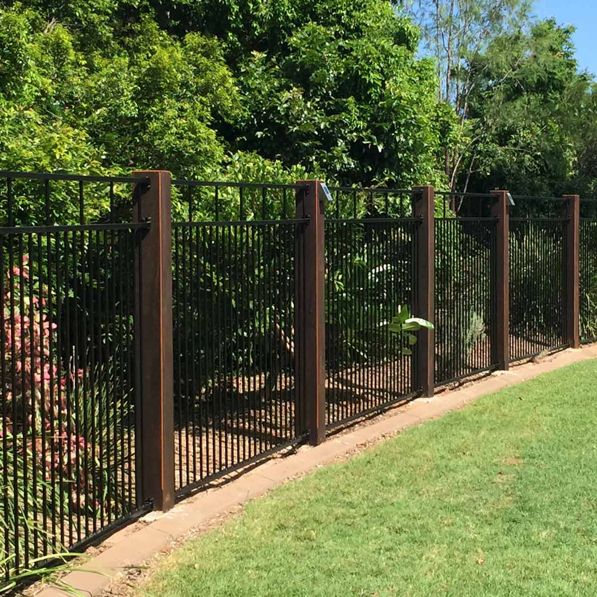 Yard Fencing 10 Modern Fence Ideas Family Handyman for Backyard Fence Ideas Pictures