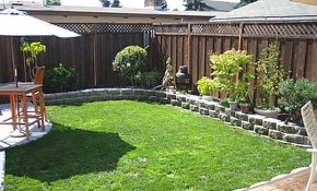 Yard Landscaping Ideas On A Budget Small Backyard pertaining to Small Backyard Ideas On A Budget