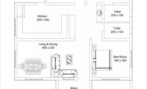 1309 Square Feet 3 Bedroom Low Budget Home Design And Plan with regard to Modern 3 Bedroom House Plans