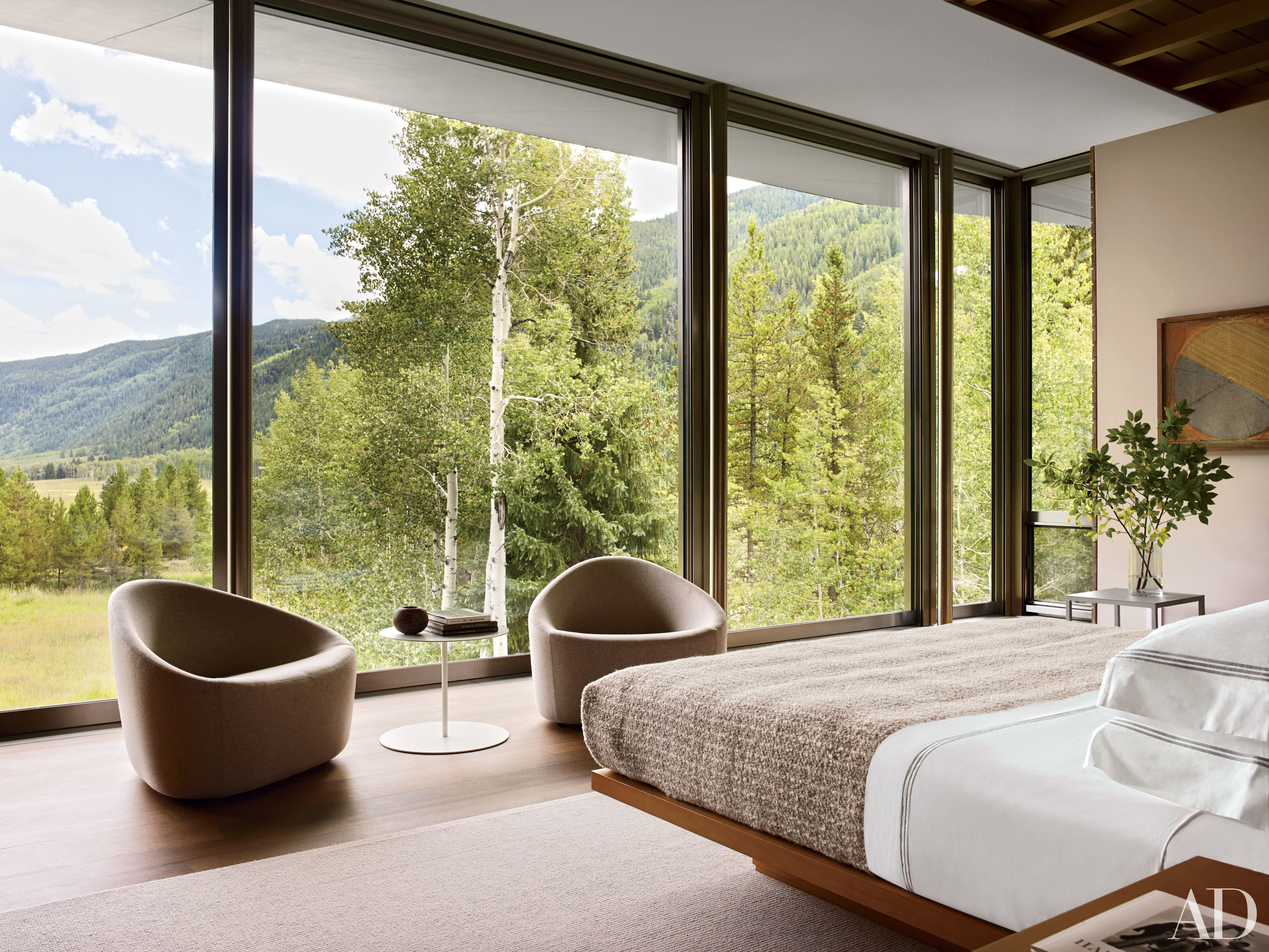 24 Contemporary Bedrooms With Sleek And Serene Style throughout Modern Bedroom Decorating