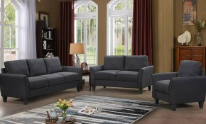3 Piece Sofa Living Room Furniture Set Loveseat Chair Sectional Sofa Set Black for 13 Some of the Coolest Concepts of How to Upgrade Camo Living Room Sets