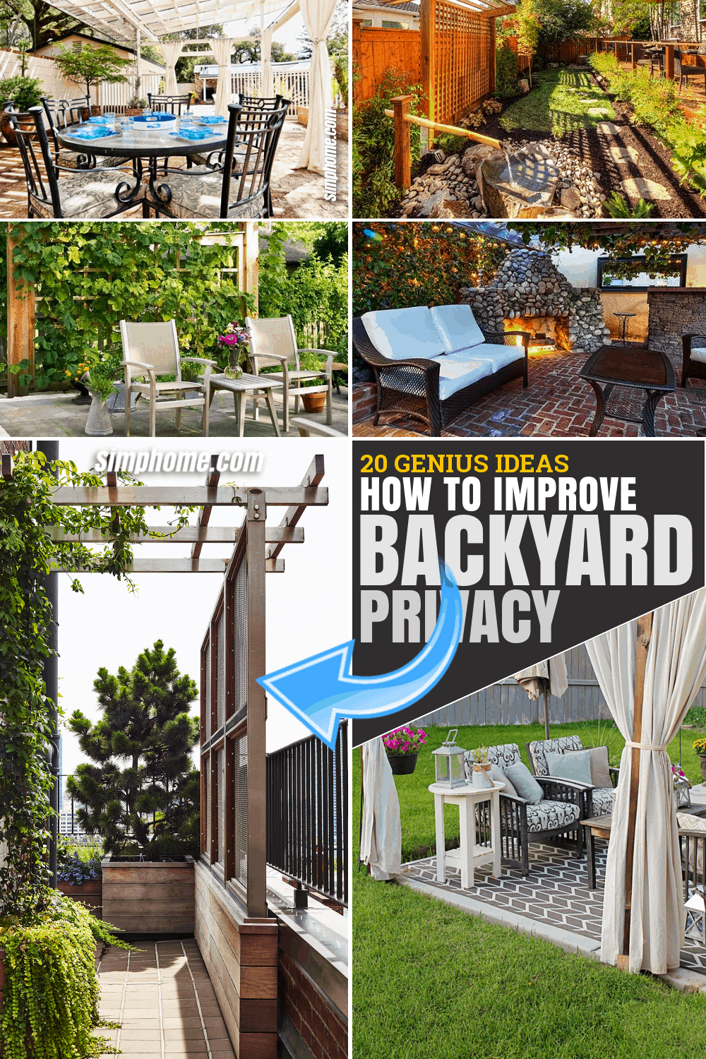 10+ Ways-on How to Improve Backyard Privacy