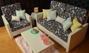 American Girl And Other 18 Doll Living Room Set Ana White throughout 14 Awesome Ways How to Improve American Girl Living Room Set