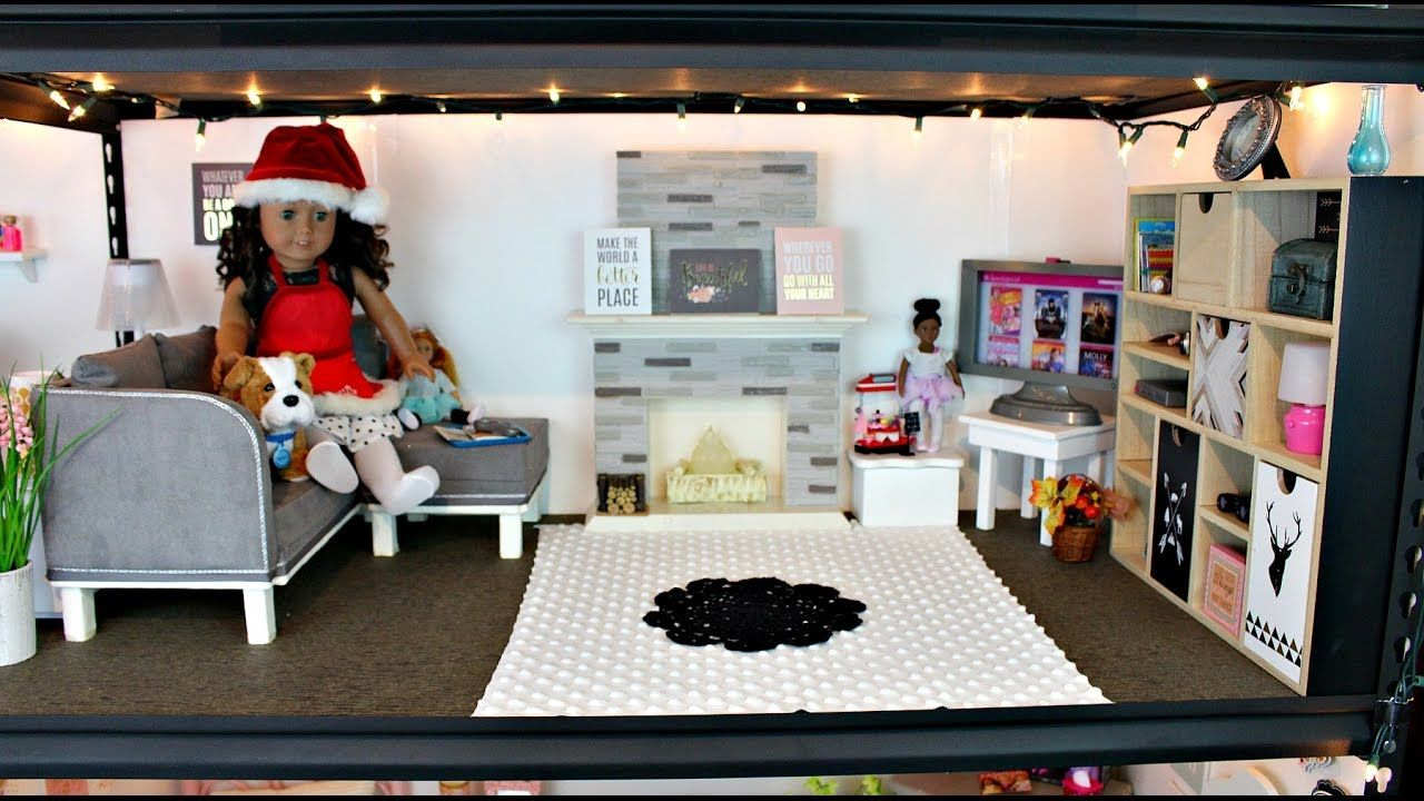 American Girl Doll Living Room Tour Baci Living Room with regard to 14 Genius Tricks of How to Build 18 Inch Doll Living Room Set