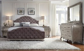 Anastasia 5 Piece King Size Bedroom Set Tom King Size throughout 13 Clever Tricks of How to Upgrade Modern Bedroom Set King