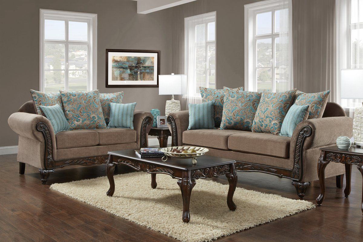 Duclos Configurable Living Room Set In 2019 Home Rooms intended for Living Room Sets Online