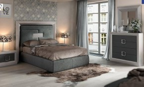Esf Enzo Gray Wood King Bedroom Set 3pcs Modern Contemporary Made In Spain inside 13 Clever Tricks of How to Upgrade Modern Bedroom Set King