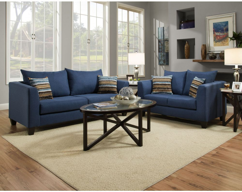 Factory Select Sofa Loveseat Collection In 2019 College within Cheap Living Room Sets Online