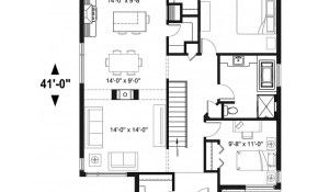 House Plan Bernard No 4161 in 11 Some of the Coolest Ideas How to Make Modern 2 Bedroom House Plans