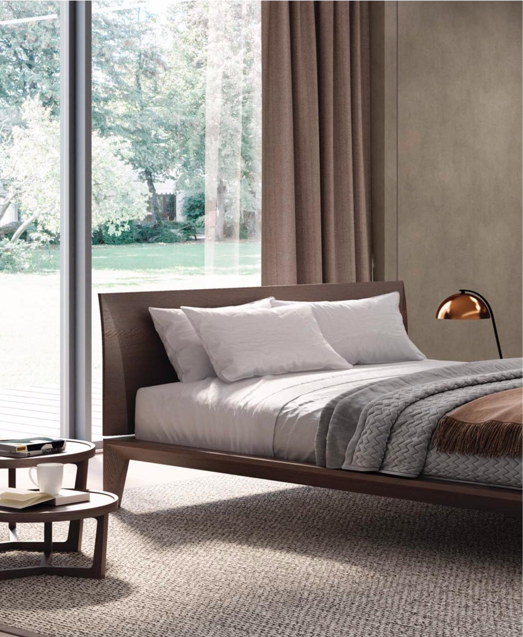 Italian Modern Wood Bed Handmade And Designed In Italy Wood Or Leather Queen for 15 Some of the Coolest Concepts of How to Craft Modern Italian Bedroom Set