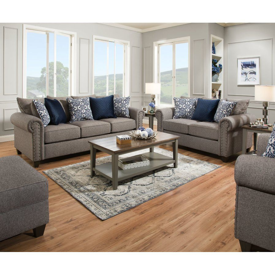 Latitude Run Jesup Configurable Living Room Set In 2019 with regard to Living Rooms Sets For Cheap