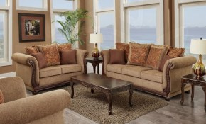 Living Room Set 3 Pc Balmoral Brown in 15 Awesome Ways How to Makeover Cheap 3 Piece Living Room Set