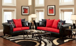 Living Roomcomely Black And Red Living Room Pattern Rug in 14 Genius Tricks of How to Build Black And Red Living Room Set