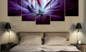 New Modern Art Blooming Flower Painting On Canvas Home Decor Wall Art Oil Paintings For Bedroom Personalized Gift with regard to 12 Awesome Tricks of How to Craft Modern Art For Bedroom
