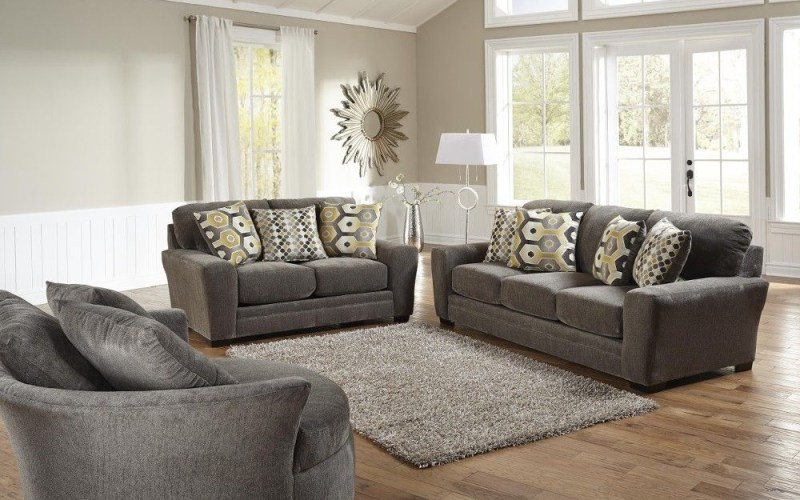 Sax Living Room Sofa Loveseat Grey 32970 Conns throughout Conns Living Room Sets