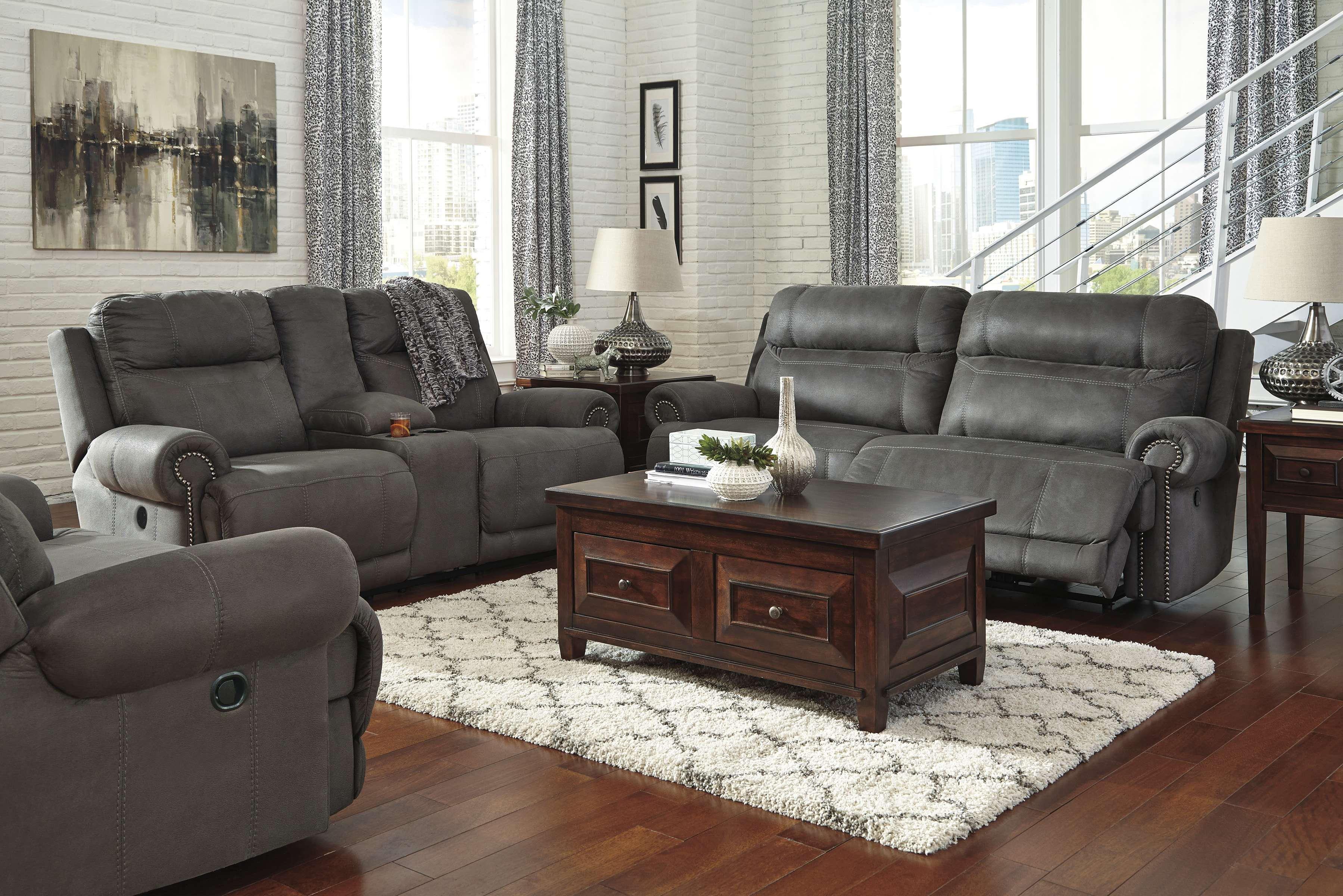 Signature Design Ashley 3840181 3840194 3840152 for 12 Awesome Concepts of How to Improve Living Room Set 3 Piece