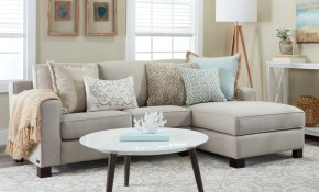 Small Sectional Sofas Couches For Small Spaces Overstock for Living Room Sets For Small Spaces
