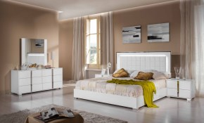 Vig Furniture Inc Modrest San Marino Modern White Bedroom Set regarding 15 Genius Ideas How to Makeover Modern White Bedroom Sets