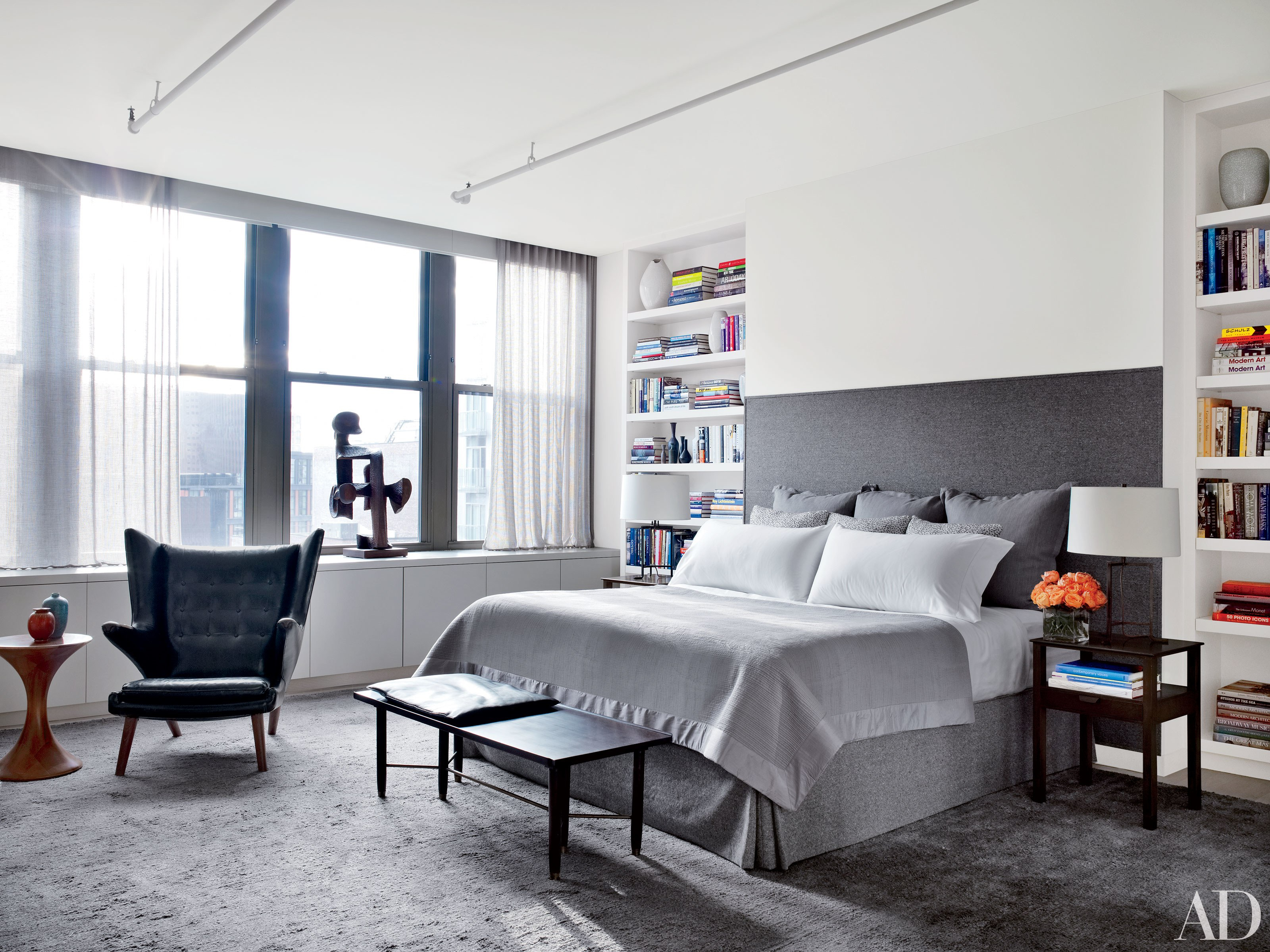 24 Contemporary Bedrooms With Sleek And Serene Style throughout 10 Clever Designs of How to Improve Bedroom Modern Ideas