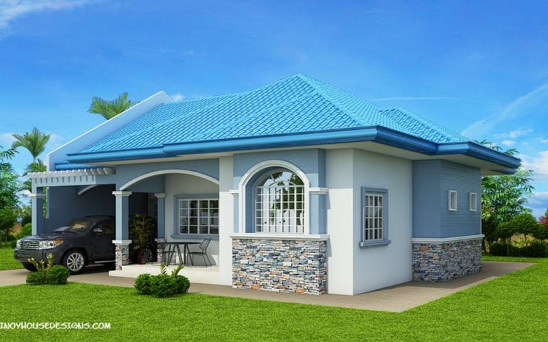 5 Modern House With 3 Bedroom Design Plan And Price Estimate intended for Modern Three Bedroom House Design