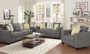 Five Distinctive Living Room Sets From Coaster Home throughout Living Rooms Sets For Sale
