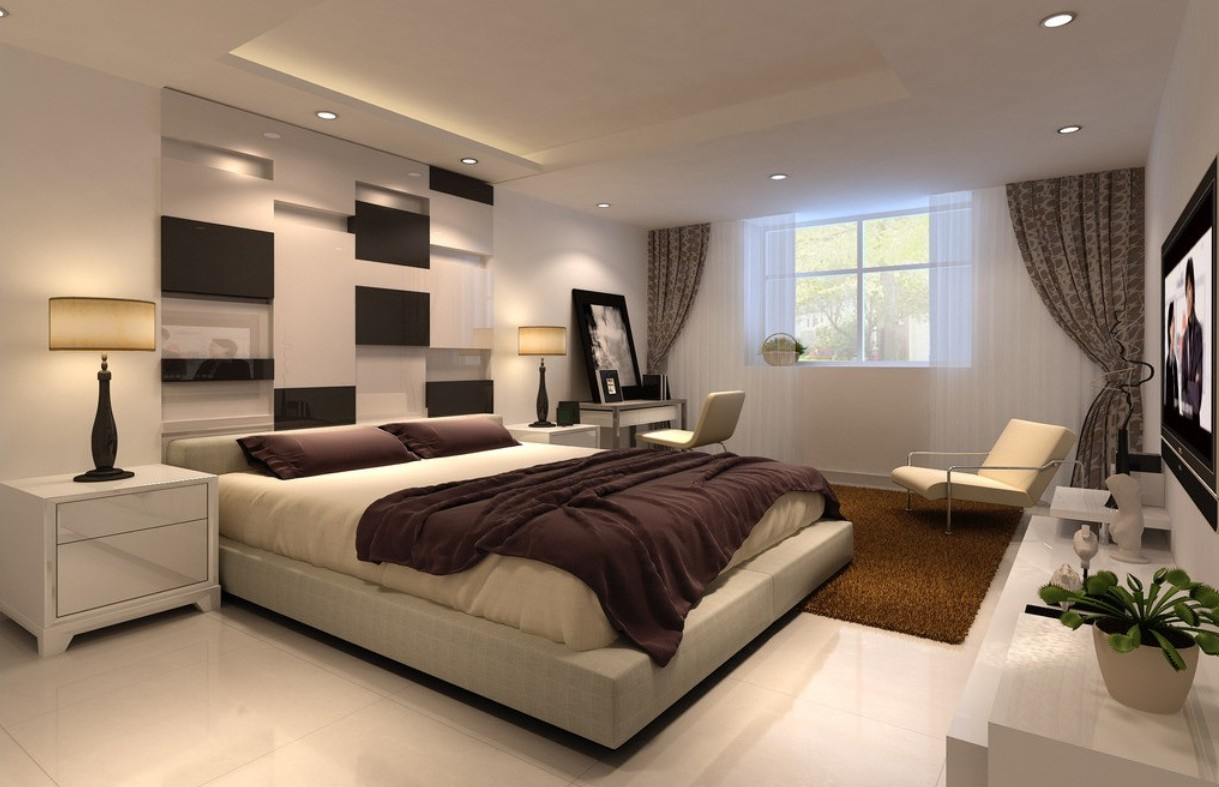 Wall Decor Ideas For Bedroom Modern Beautiful Wall Decor intended for Bedroom Modern Ideas