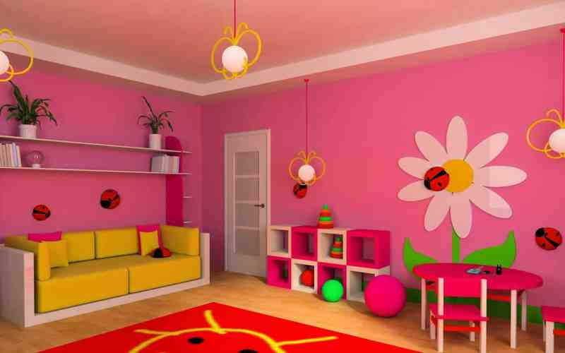 10 Awesome Wallpaper Designs For Kids Bedrooms 32 With Additional Home Design Ideas for Wallpaper Designs For Kids Bedrooms