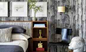 10 Excellent Wallpaper Designs For Bedrooms 55 For Small Home Decoration Ideas by Wallpaper Designs For Bedrooms