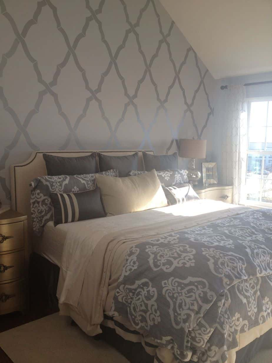 10 Nice Wallpaper Designs For Master Bedroom 54 For Your Interior Design For Home Remodeling by Wallpaper Designs For Master Bedroom