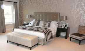 10 Sweet Wallpaper Designs For Master Bedroom 42 With Additional Interior Design For Home Remodeling for Wallpaper Designs For Master Bedroom