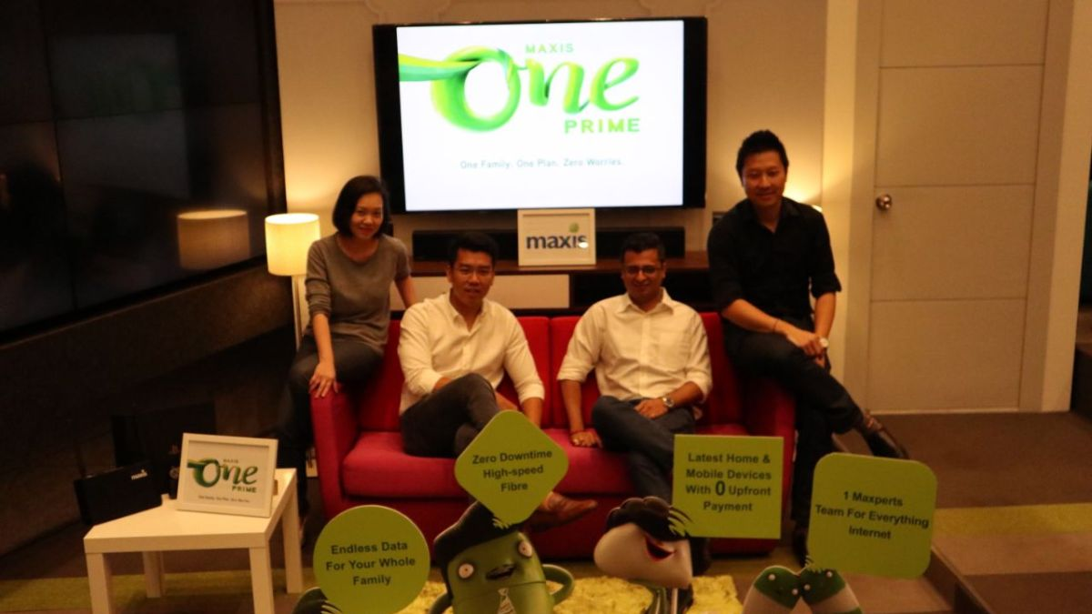 Maxis Launches MaxisOne Prime, All-in-One Family Plan