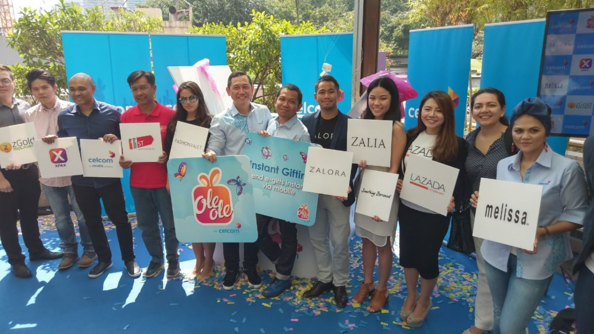 Celcom announces OLEOLE; First Ever e-Gifting Service